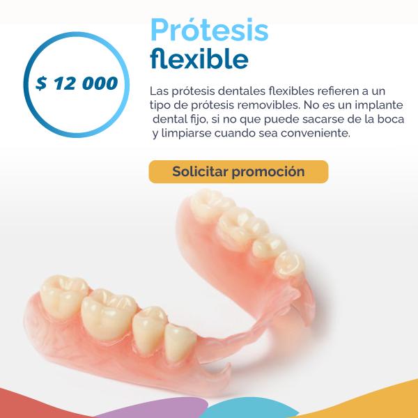 Prótesis flexible
